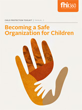 Becoming a Safe Organization for Children -  Manual 3