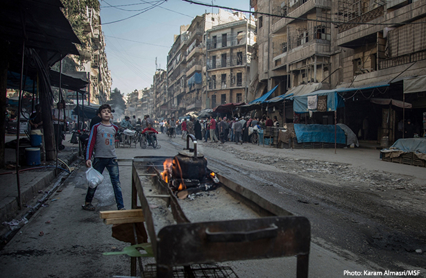 Streets in Syria