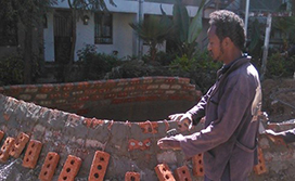 Local youth builds the first biodigester unit in Addis Ababa, Ethiopia