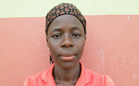 Beatrice is a participant in the YouthPower Action Anyaka Makwiri project in Uganda