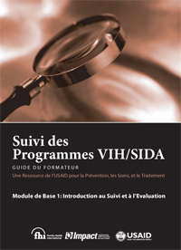 A Guide for Monitoring and Evaluation of HIV-AIDS Programs - French (Module 1).pdf