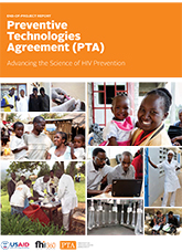 Preventive Technologies Agreement (PTA) End-of-Project Report: Advancing the Science of HIV Prevention