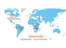 FHI 360 Global Learning: Where We Work