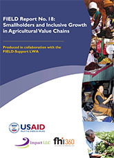 FIELD Report No. 18: Smallholders and Inclusive Growth in Agricultural Value Chains