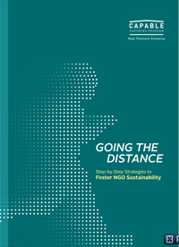 Going the Distance: Step-by-Step Strategies to Foster NGO Sustainability