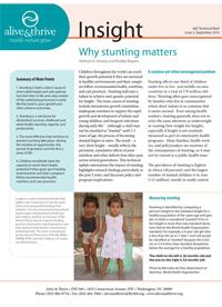 Why Stunting Matters (English)