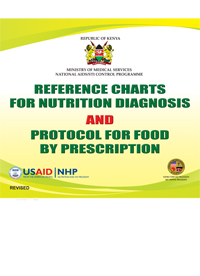 Reference Charts for Nutrition Diagnosis and Protocol for Food by Prescription