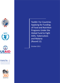 For Countries Applying for Funding of Food and Nutrition Programs Under the Global Fund to Fight AIDS, Tuberculosis and Malaria