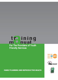 Training Manual for the Providers of Youth-Friendly Services