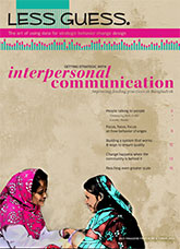 Getting Strategic with Interpersonal Communication: Improving Feeding Practices in Bangladesh