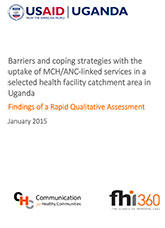 Barriers and Coping Strategies with the Uptake of MCH/ANC-linked Services in a Selected Health Facility Catchment Area in Uganda