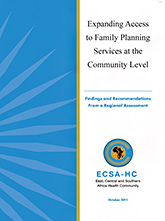 Expanding Access to Family Planning Services at the Community Level