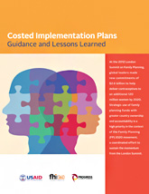 Costed Implementation Plans: Guidance and Lessons Learned (PDF, 1.6 MB)