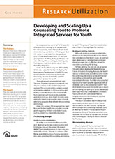 Developing and Scaling Up a Counseling Tool