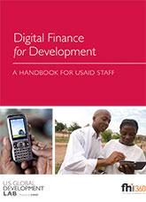 Digital Finance for Development: A Handbook for USAID Staff