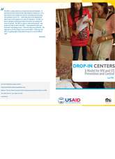 Standard Operating Procedure for Setting Up Drop-in Centers for Female Sex Workers (PDF in Lao)