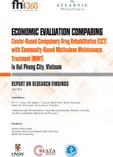 Economic Evaluation Comparing Center-Based CCT with Community-Based MMT (English)