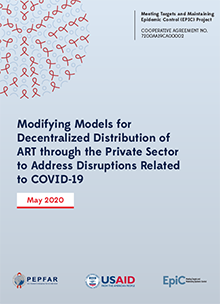 Modifying Models for Decentralized Distribution of ART through the Private Sector to Address Disruptions Related to COVID-19