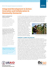 Integrated Development in Action: Innovation and Collaboration in Community Connector