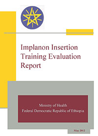 Implanon Insertion Training Evaluation Report