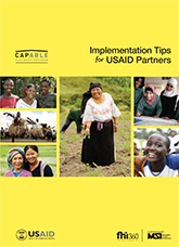 Implementation Tips for USAID Partners
