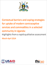Highlights from a rapid qualitative assessment in Uganda