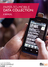 Paper-to-Mobile Data Collection: A Manual