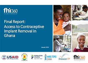 Final Report: Access to Contraceptive Implant Removal in Ghana