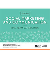 Social Marketing and Communication BPA: Team Capabilities