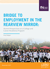 Bridge to Employment in the Rearview Mirror: Alumni Perspective on a College and Career Readiness Program