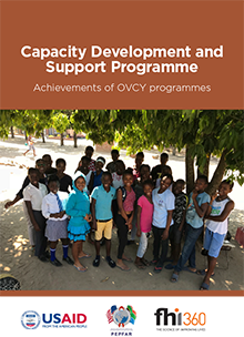 Capacity Development and Support Programme: Achievements of OVCY Programmes