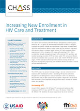 Increasing New Enrollment in HIV Care and Treatment (fact sheet)