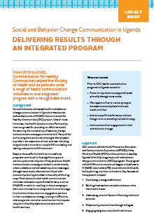 Delivering Results Through an Integrated Program