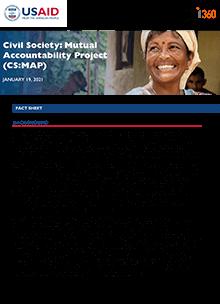 Civil Society: Mutual Accountability Project (CS:MAP) (fact sheet)