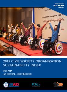 2019 Civil Society Organization Sustainability Index for Asia
