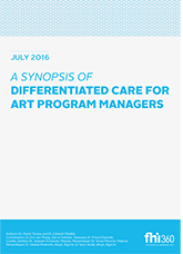 A Synopsis of Differentiated Care for ART Program Managers