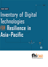 Inventory of Digital Technologies for Resilience in Asia-Pacific