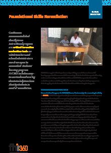 Foundational Skills Remediation - Global Education (fact sheet)