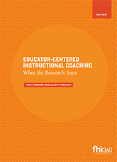 Educator-Centered Instructional Coaching: What the Research Says