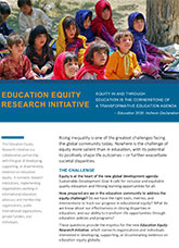 Education Equity Research Initiative (fact sheet)
