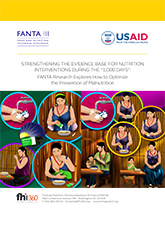Strengthening the Evidence Base for Nutrition Interventions During the