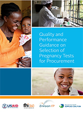 Quality and Performance Guidance on Selection of Pregnancy Tests for Procurement