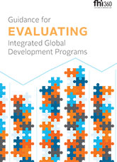 Guidance for Evaluating Integrated Global Development Programs