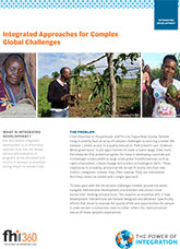 Integrated Approaches for Complex Global Challenges
