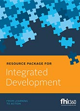 Resource Package for Integrated Development: From Learning to Action
