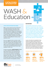 Catalyzing Integration: WASH and Education