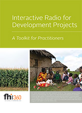 Interactive Radio for Development Projects: A Toolkit for Practitioners