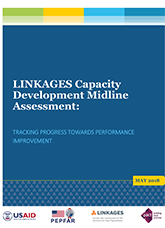 LINKAGES Capacity Development Midline Assessment: Tracking Progress towards Performance Improvement