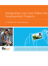 Integrating Low-Cost Video into Development Projects: A Toolkit for Practitioners