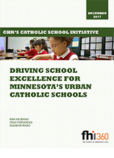 Driving School Excellence for Minnesota's Urban Catholic Schools